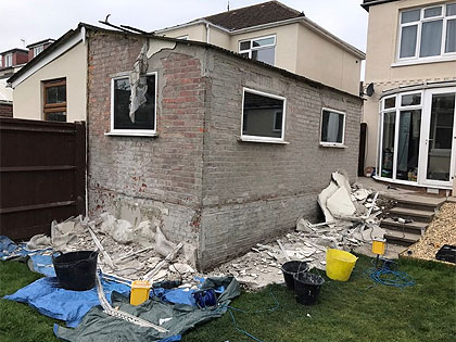 Wall render preparation